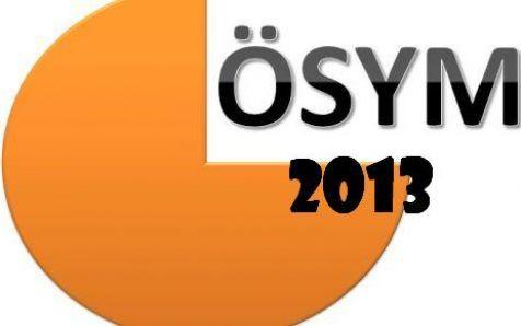 osym 2013